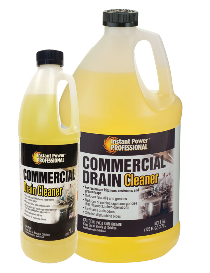 Commercial Drain Cleaner | Instant Power Professional | Scotchcorp