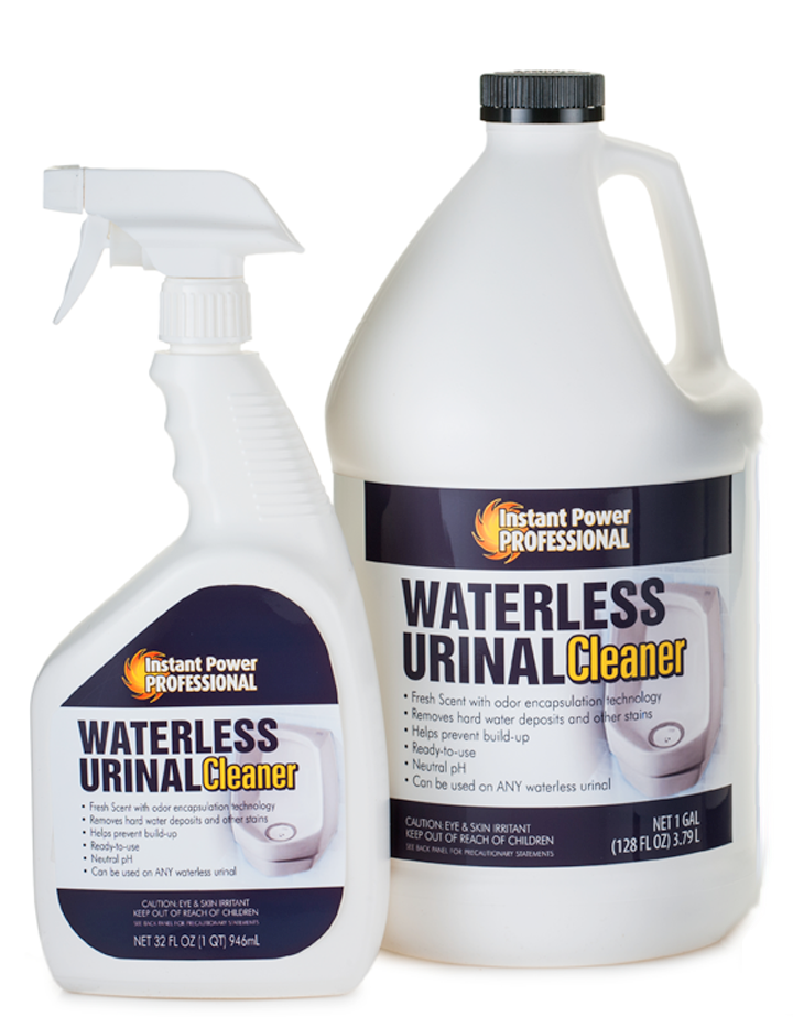 waterless urinal cleaner commercial drain cleaner